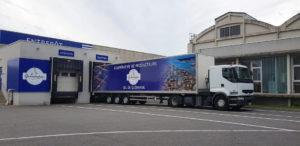 Covering du véhicule utilitaire de la coopérative de producteurs Sel de Guérande