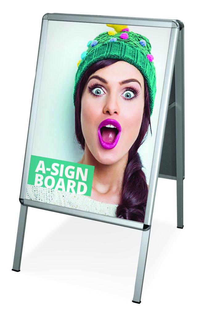 stop trottoir a sign board