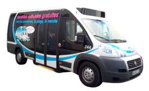 Une réalisation Visuel Original pour le covering de vehicule utilitaire