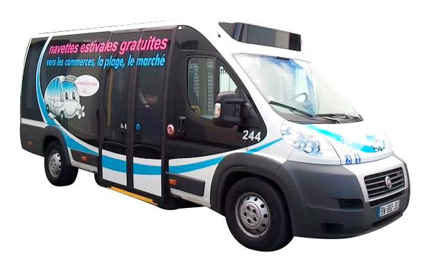 Une réalisation Visuel Original pour le covering de Bus