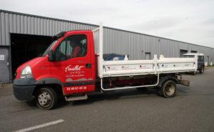 Une réalisation Visuel Original pour le covering de vehicule utilitaire de Fouillet