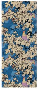 motif papier peint sur mesure style asiatique