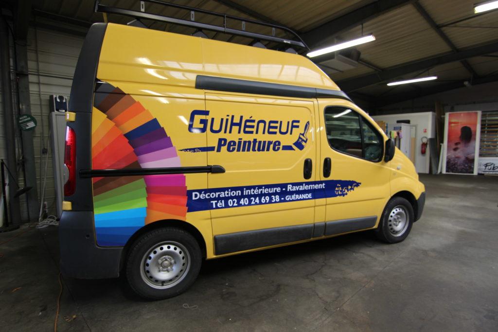 Covering véhicule professionnel guihéneuf peinture pro