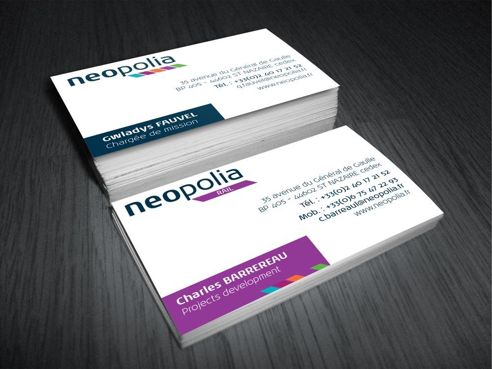 Carte de visite Neopolia