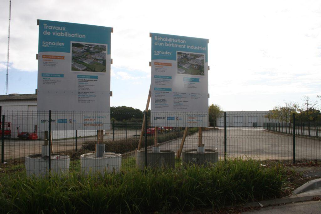 Panneaux de chantier Actibrais