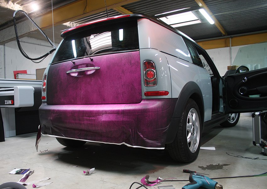 covering back vehicule