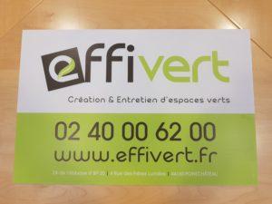 Panneau Aquilux Effivert création & entretien d'espaces verts