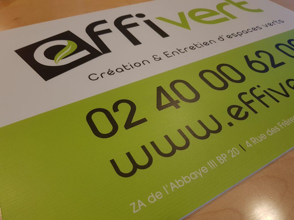 Panneau Aquilux pour Effivert création & entretien d'espaces verts