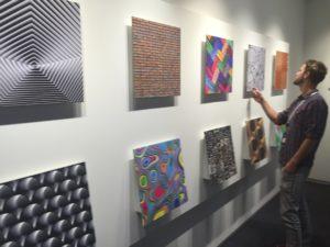 Tirage d'art en showroom