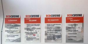 Panneau cadre en PVC pour EcoCuisine